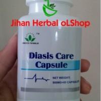 obat darah tinggi ( obat herbal DIASIS CARE CAPSULE GREEN WORLD)
