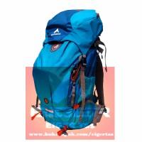 Tas Ransel Hiking/Carrier EIGER RHINOS 1241 60L Blue + Rain Cover