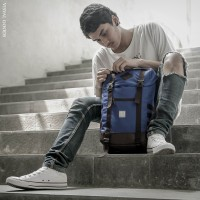 Tas Ransel Backpack Visval Prime Gendong Punggung Laptop Pria Rucksack