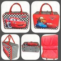 Tas Travelbag Koper Anak Kanvas Karakter cars
