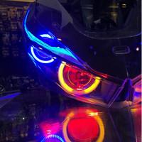 Headlamp honda vario 150 fi / 125 new fi + projector b1 + u6