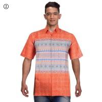 Baju Batik Pria   Kemeja Batik   Hem Batik Anjani Soft - Warna 2