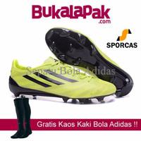 GRATIS KAOS KAKI BOLA !! Sepatu Bola Baru Adidas adizero f50 99 gram