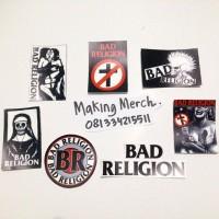 STICKER BAND BAD RELIGION