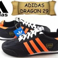 sepatu ADIDAS DRAGON 29 SUEDE hitam