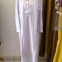 baju ihrom wanita jumbo / gamis putih / gamis umroh jumbo /gamis haji