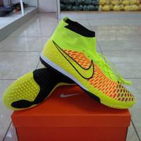 Sepatu Futsal Super Grade, Nike Magista Obra TF, Green Volt.