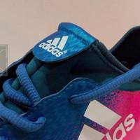 100% REAL PICT | Adidas Chaos X 2016 16.3 Turf, Sepatu Futsal Rumput S