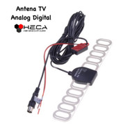 Antena TV Mobil Analog Model Digital Kupu-Kupu