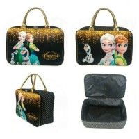 Tas travel bag anak kanvas karakter Frozen