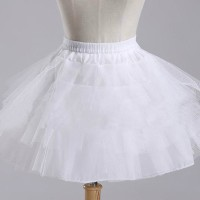GS3025 WHITE PETTICOAT [BAJUKIDDIE] BAJU ANAK DRESS ANAK PRINCESS ANAK