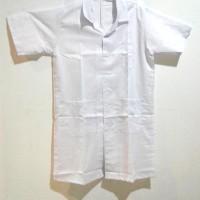 Baju Praktikum Tipis L / Baju Lab/ Seragam Laboratorium