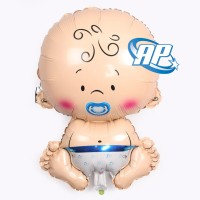 balon foil baby boy jumbo / balon baby boy / blue boy