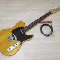 Gitar Fender TELECASTER kuning custom
