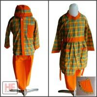 Seragam Anak Tk / Baju Muslim Tk Paud / Baju Muslim kotak Murah
