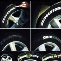 Spidol ban Toyo Original mobil motor sepeda truk bus tire paint marker