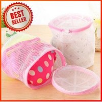 Laundry bag bra double layer Zipper / Pengaman Bh Underwear mesin cuci