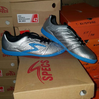 Sepatu Futsal Specs Apache IN Silver