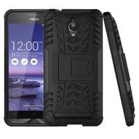 Rugged Armor Casing Zenfone Go 5 Inch ZC500TG Hard Case cover Hybrid