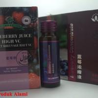 Blueberry Juice High VC Green World 100% Original