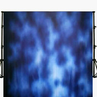 Background Foto abstrak Biru ukuran 2,5x3M