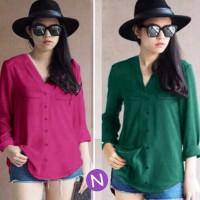 blouse carolina / grosir baju tanah abang / agen baju wanita