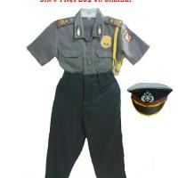 Stelan Anak Seragam Polisi/ Baju Polisi Anak Murah Berkualitas