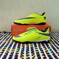 DISKON ORIGINAL! Sepatu Futsal Nike Hypervenom Phelon IC Yellow-blue