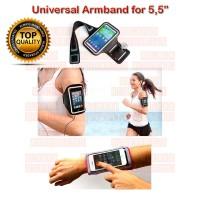 Armband Universal utk HP 5,5 (Good Quality) Arm band Universal 5,5