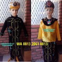 Daerah Betawi Couples  Baju Karnaval Adat Kostum Pentas Seni Anak