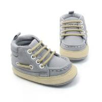 Sepatu Bayi Prewalker Boots Canvas