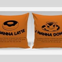 Bantal Sofa / Bantal Couple - Donut