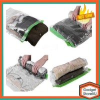 Plastik Vakum Baju/ Vakum Vacuum Compression Bags Clothes