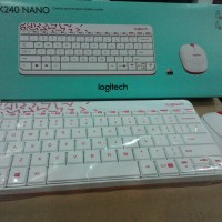 LOGITECH WIRELESS COMBO MK240 NANO ( KEYBOARD DAN MOUSE WIRELESS )
