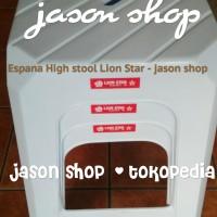 Kursi plastik (kursi bakso) Lion Star G-10 Espana/Bangku Lion star G10