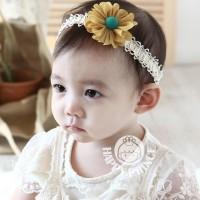 bando bandana pita Headband bayi anak balita newborn impor BHA1041