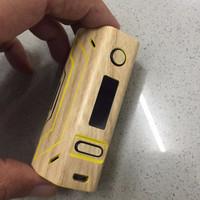 Garskin / Sticker carbon Box Mod Vapor Smoant Battlestar TC 200W