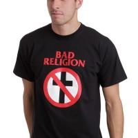 KAOS / T-SHIRT BAD RELIGION CROSS BUSTER - JASPIROW SHOPPING