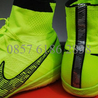 Nike Elastico Superfly Green Volt [Sepatu Futsal] [G.O Replika Import]
