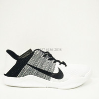 Sepatu Basket Nike Kobe XI Cowo Putih Replika Import