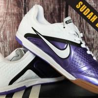 Sepatu Futsal Nike CTR 360 Putih Ungu Grade Ori Terbaru,Termurah,2016