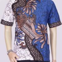 Jual Baju Batik Pria   Batik Kerja   Batik Kantor   Batik Sekar Biru