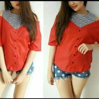 Baju Atasan Lengan Bolong /Baju Fashion Wanita Terbaru / Baju Import