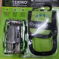 Kunci Sepeda / Bike Tool Set 15Pcs TEKIRO