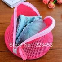 Triangle Laundry Bag Bra Double Layer Zipper Pengaman Bh Underwear CD