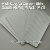 Xiaomi Mi Mix Note2 Carbon Vinyl Back Sticker Cover Skin Note 2 MiMix