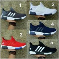Sepatu Adidas NMD Slop Cowok Cowo Men Man Pria Slip On Boost Running