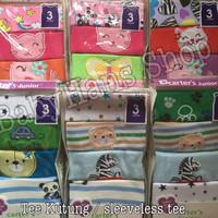 Tee kutung carters newborn / sleeveless tee / baju kutung 5 in 1