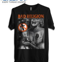 Kaos BAD RELIGION Marlyn Monroe GILDAN T shirt