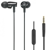 Audio Technica ATH-CLR100is With Mic - Black